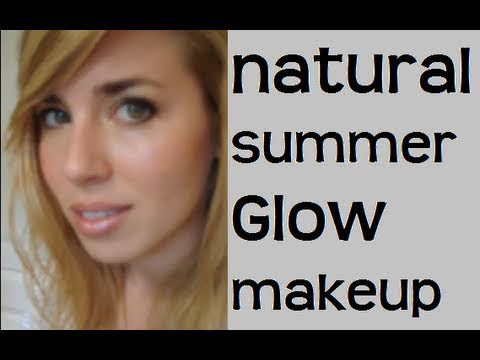 Natural Summer Glow Makeup tutorial - ELF products