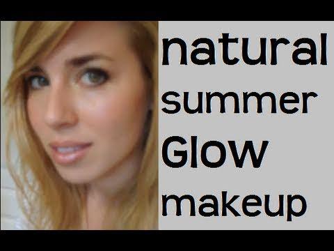Natural Summer Glow Makeup tutorial - ELF products