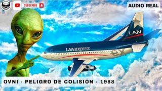 INCIDENTE OVNI MANIOBRA EVASIVA (Reconstruccion) LAN CHILE 045