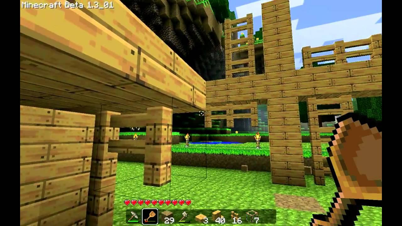 Hoe doe je dat in Minecraft? - Dingen van hout maken