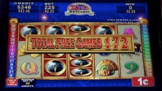 Quest for Riches | Konami - JACKPOT HANDPAY! 556 Free Spins Slot Machine Bonus