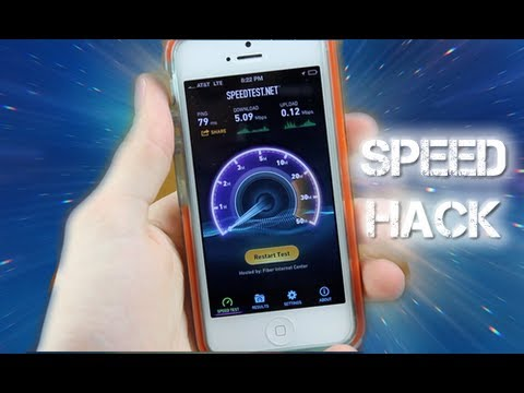 How To Increase  iPhone 5 ATT & T-Mobile LTE/4G Speeds With A Carrier Hack