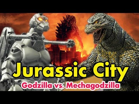Jurassic City - Godzilla vs Mechagodzilla