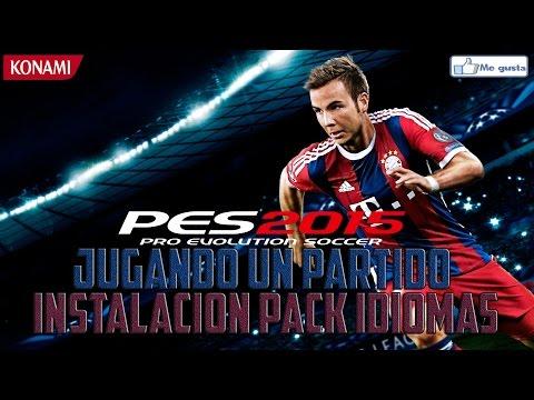 PES 2015 - GUIA INSTALACION PACK IDIOMAS + FINAL EPICO !!
