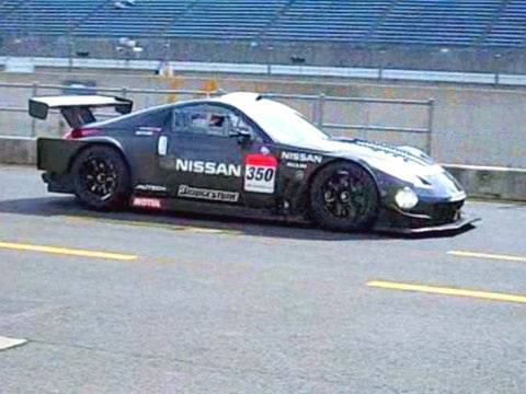 lots of Nissan 350Z race cars for Super GT GT500