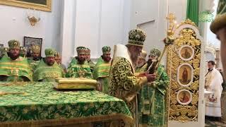 Свято-Троицкий Браиловский монастырь отметил 30-летие со дня открытия