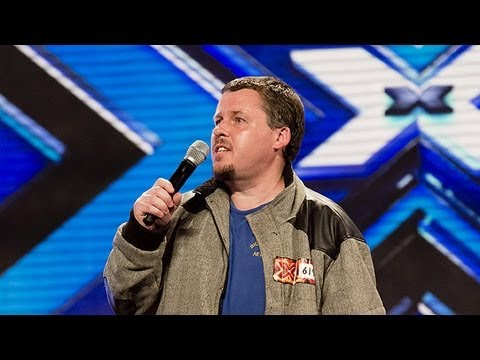 Billy Moore's audition - Journey's Dont Stop Believing - The X Factor UK 2012
