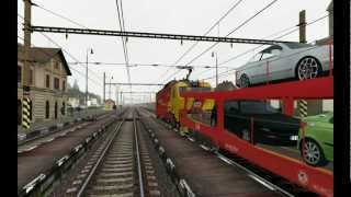 CD 151-001 EC/IC  Train Simulator 2013