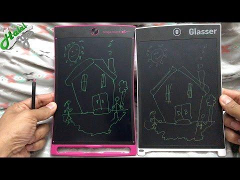 Boogie Board vs Glasser - Best LCD Writing Tablet eWriter