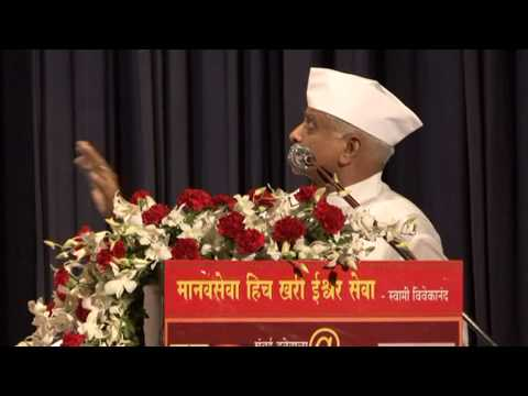 Shri  Gangaram Talekar Speech At Mumbai Dabbawala125 video