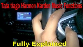 Features of  Harman kardon music system in Tata Tiago
