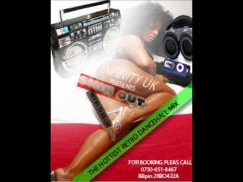 INFINITY UK SKIN OUT RETRO VOL 4 CLEAN DANCEHALL MIX BY DJ-KILLER