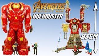 Hulkbuster Quartier Général Avengers Infinity War Marvel Jouet Hasbro Noel 2018