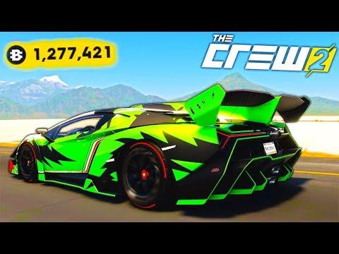 КУПИЛ СВОЮ МЕЧТУ! ЛУЧШИЙ ТЮНИНГ ЗА 1.000.000 БИТКОИНОВ - КРУТЫЕ ЗАЕЗДЫ НА Lamborghini В THE CREW 2