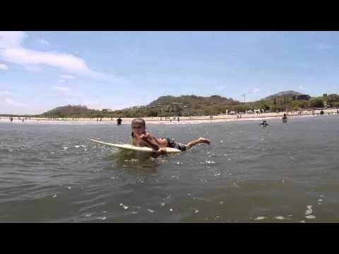 Spring Break Kids Surf Camp in Tamarindo, Costa Rica