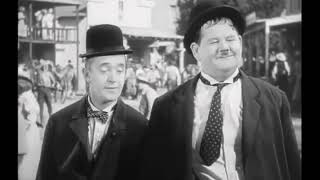 Stan Laurel & Oliver Hardy dance to Rolling Stones  - Let's spent a night together (Lyrics)