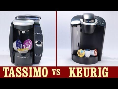 Best Coffee Maker Keurig Or Tassimo : Keurig vs Tassimo - YouTube