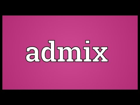 Header of admix