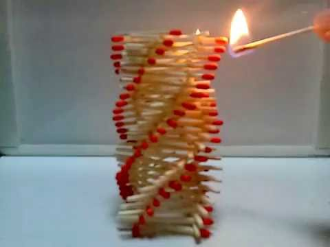 Amazing Fire Domino!! 
