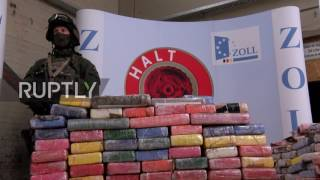 Germany: A lot of blow! 3.8 tonnes of cocaine seized in Hamburg, said to be worth €800 MILLION