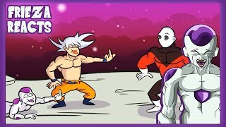 FRIEZA REACTS TO GOKU VS JIREN ENDING!