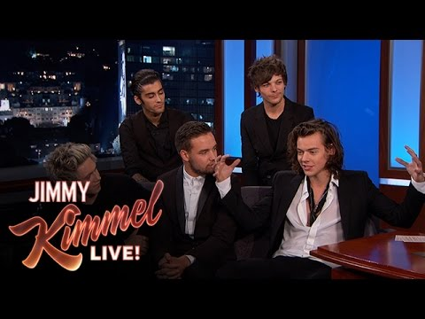 One Direction on Fans, Royals & Johnny Depp