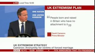David Cameron Extremism Strategy [entire speech]