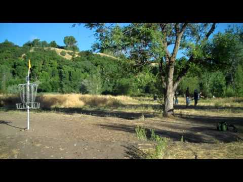 Riverpark Disc Golf Course Riverdale, Ut Front 9.mp4