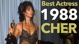 1988 | Cher Wins Best Actress For Moonstruck