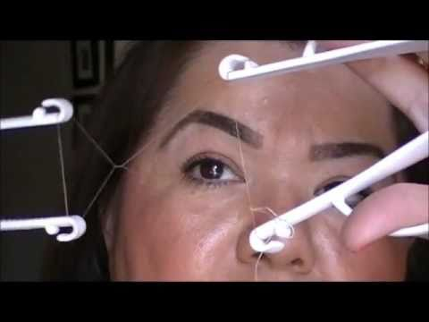 Eyebrow Threading for Dummies  using the Helix Threading System
