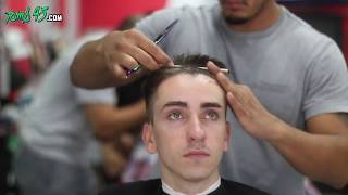 #6 Disconnected Undercut ★ Fade with Volume on top   Mens Haircut Tutorial