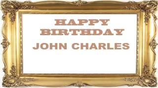 John Charles   Birthday Postcards & Postales