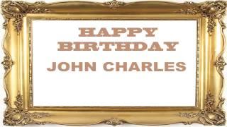 JohnCharles   Birthday Postcards & Postales - Happy Birthday
