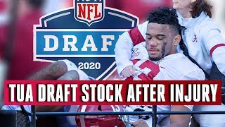 Tua FALLS OUT OF 1ST ROUND as NFL Draft stock Plummets after Hip Injury | CBS Sports HQ