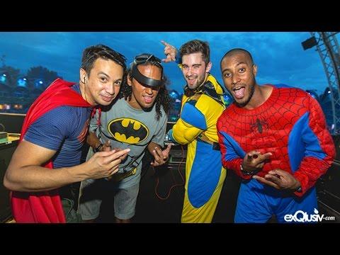 Superheroes LIVE @ Super You&Me Stage, Tomorrowland, Belgium 2014-07-19