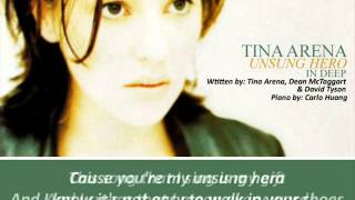 Watch Tina Arena Unsung Hero video