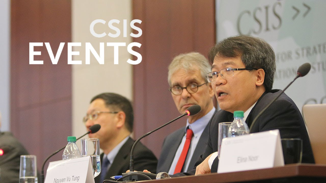 Sixth Annual CSIS South China Sea Conference: The South China Sea in 2016