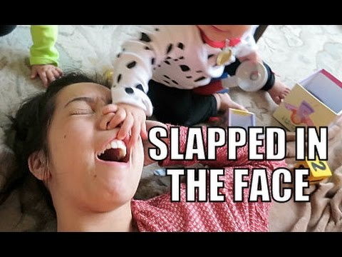 Slapped in the Face- February  06, 2015 ItsJudysLife Vlogs