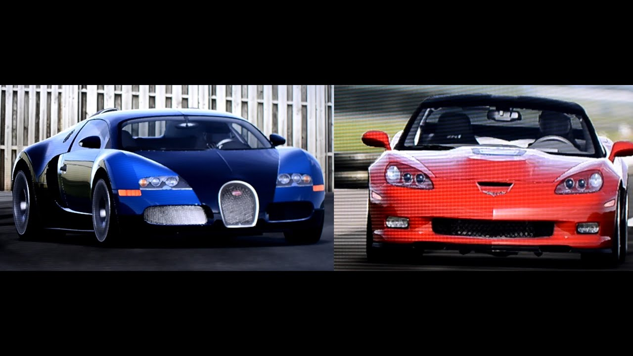 bugatti veyron vs corvette zr1 on top gear track youtube. Black Bedroom Furniture Sets. Home Design Ideas