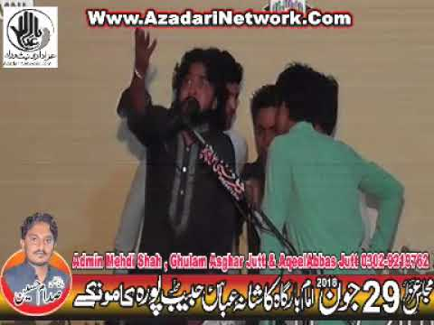 Zakir Husnain Raza Sanwal 29 June 2018 Habib Pura Kamoke