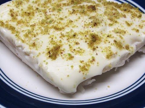 لقمة الباشا التركية حلويات رمضانية سهلة و سريعة بمكونات متوفرة في كل بيت
