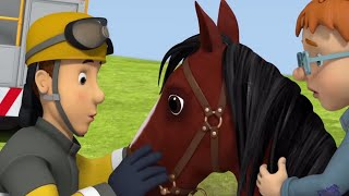 Fireman Sam US ⭐️ How to Tame a Horse! | Best Rescue Compilation 🔥Kids Movie