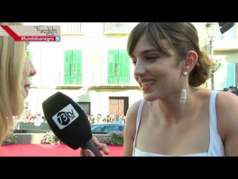 La actriz Marina Salas en la AlfombraRoja del 19 Festival de Málaga @punkynina
