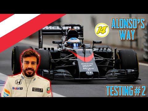 F1 2015 Alonso's Way Testing No.2 (Austria)