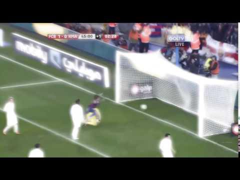 Красивый гол Дани Алвеса/A wonderful goal Dani Alves