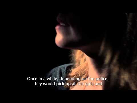 Human trafficking in Europe -- forced prostitution.