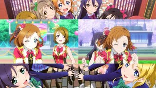 Bokura no LIVE Kimi to no LIFE Anime/PV Comparison 60fps