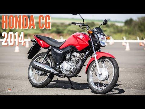 Honda CG Fan 125 2014 Titan 150 2014 - Apresentação - BlogAuto