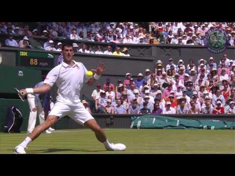 2015 Day 3 Highlights, Novak Djokovic vs Jarkko Nieminen