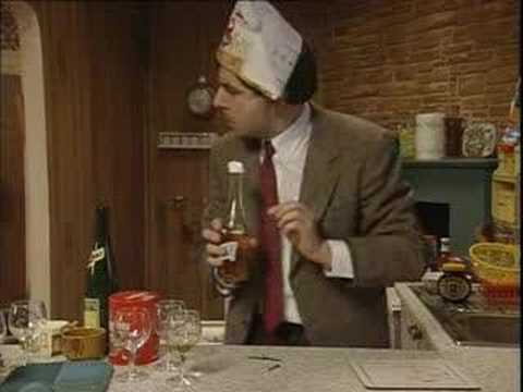 Mr. Bean-On new years with his frends (Great Quality)
